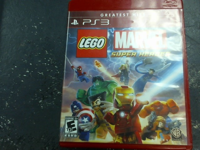SONY Sony PlayStation 3 Game LEGO MARVEL SUPER HEROES PS3