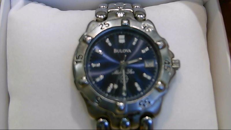 BULOVA Gent's Wristwatch MARINE STAR 98B104