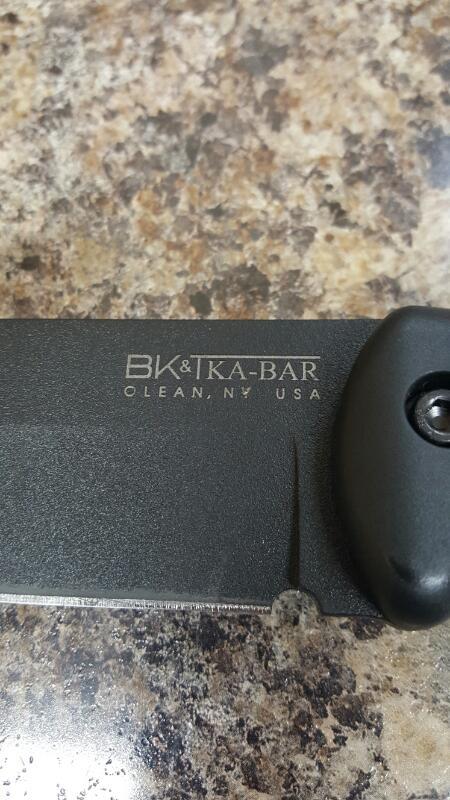 Ka-Bar BK-2 Becker Campanion Fixed Blade Survival Camp Knife