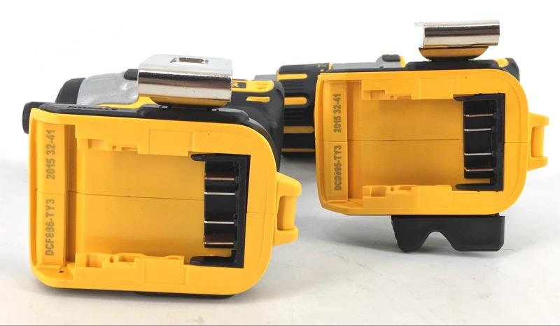 DCK296M2 DEWALT BRUSHLESS HAMMERDRILL IMPACT COMBO KIT 20V XR