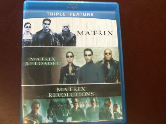 MATRIX TRIPLE FEATURE BLU-RAY SET