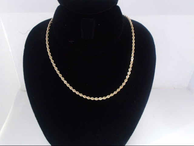 Gold Chain 14K Yellow Gold 7g