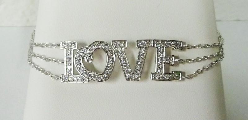 Silver Fashion Bracelet 925 Silver 5.47dwt