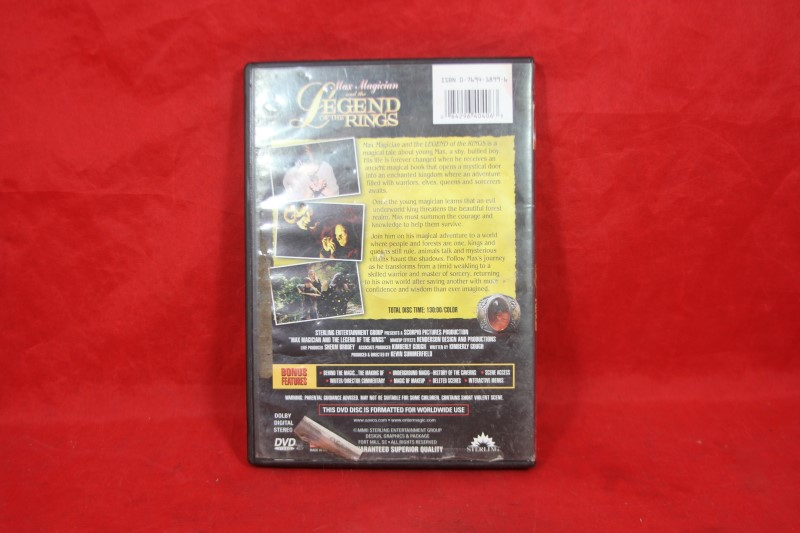 Max Magician and the Legend of the Rings (DVD, 2002)