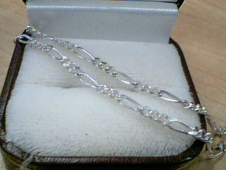"18"" Silver Link Chain 925 Silver 7.4g"