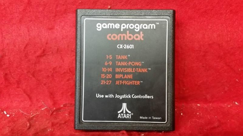 Combat (Atari 2600, 1977) Game Only