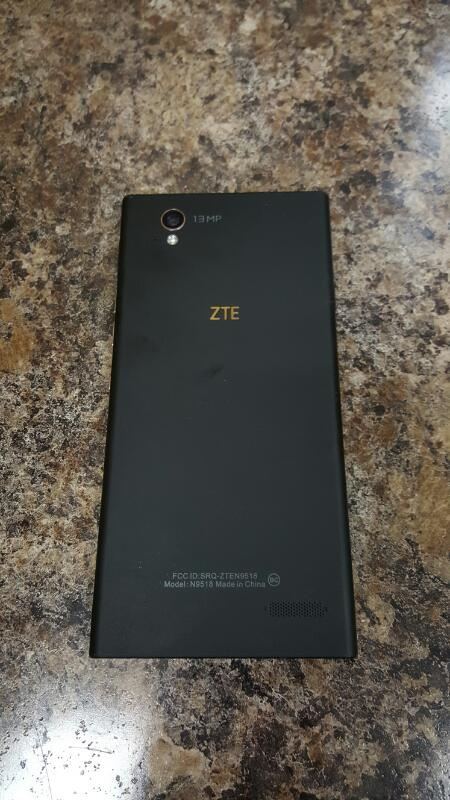 ZTE Warp Elite, 16gb (N9518, Black, Boost Mobile)