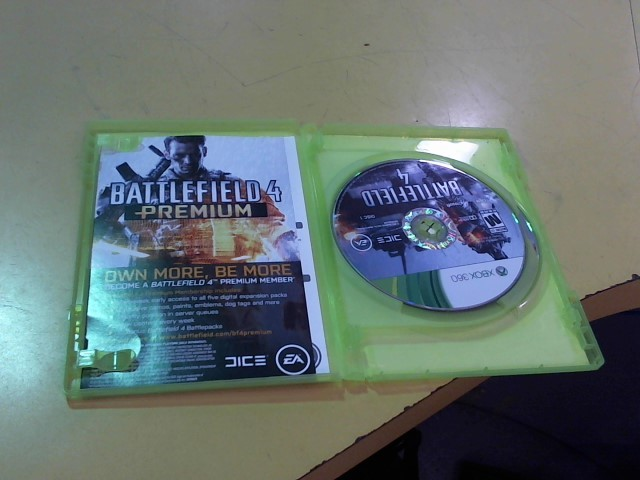 MICROSOFT Microsoft XBOX 360 Game BATTLEFIELD 4 - XBOX 360
