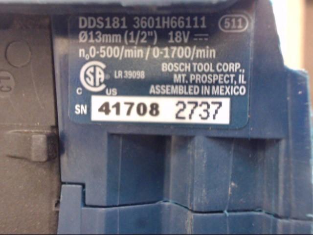 BOSCH Cordless Drill DDS181