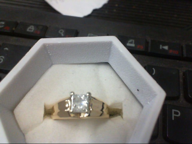 Lady's Diamond Solitaire Ring .50 CT. 14K Yellow Gold 3g