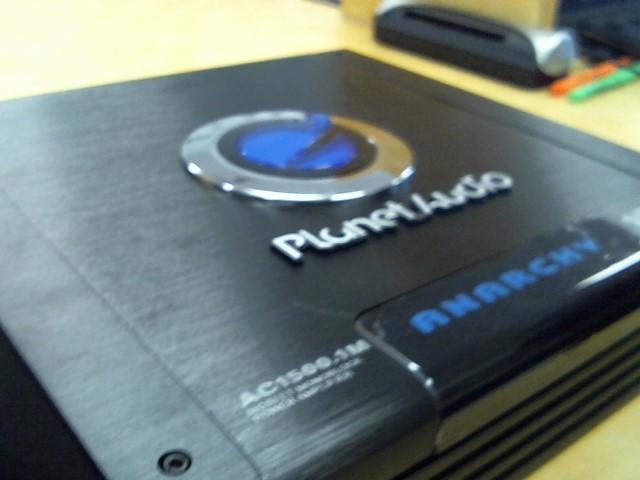 PLANET AUDIO Car Amplifier AC1500.1M