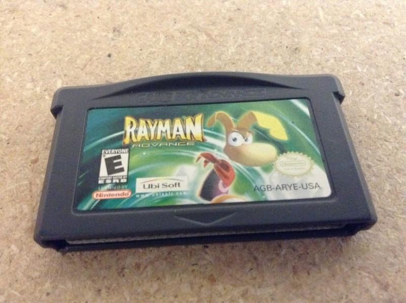 NINTENDO Nintendo GBA Game RAYMAN ADVANCE