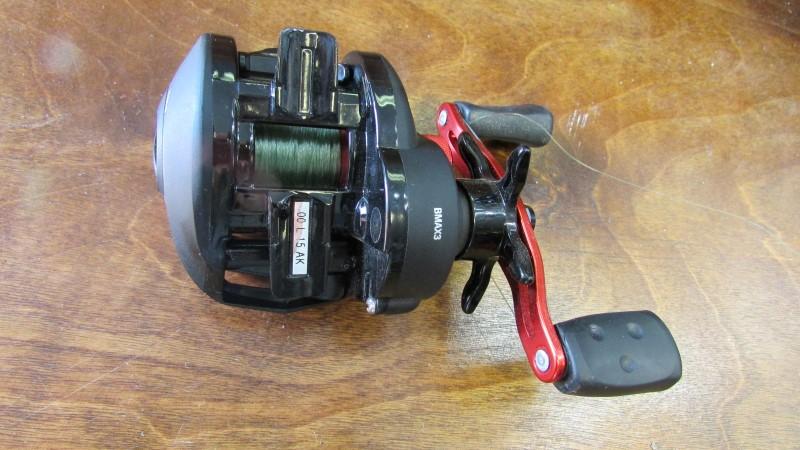 ABU GARCIA FISHING REEL BLACKMAX