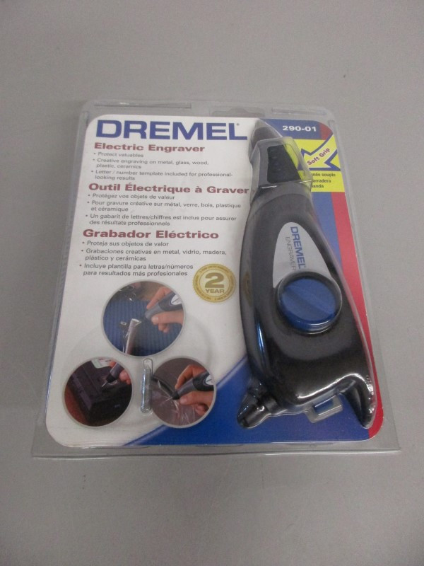 DREMEL 290-01 ELECTRIC ENGRAVER