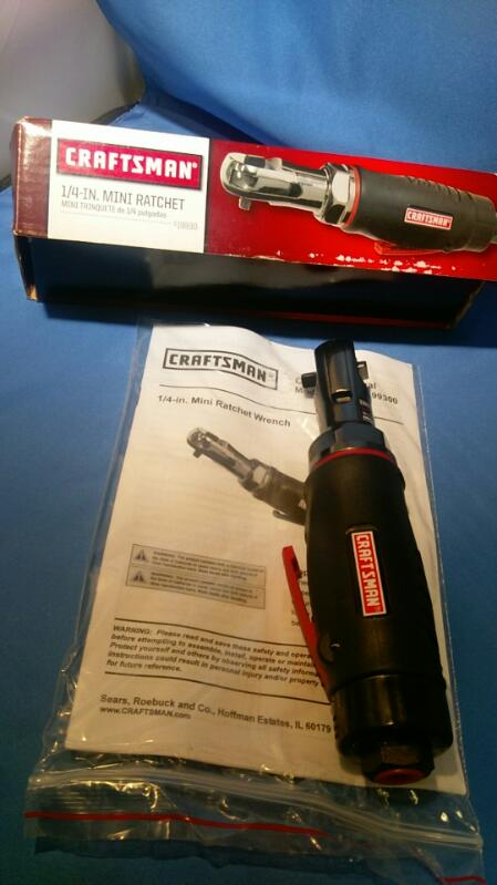 CRAFTSMAN 1/4 INCH MINI RATCHET MODEL 19930