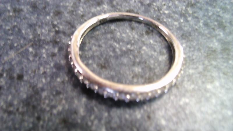 Lady's Diamond Cluster Ring 21 Diamonds .63 Carat T.W. 10K White Gold 1.2g