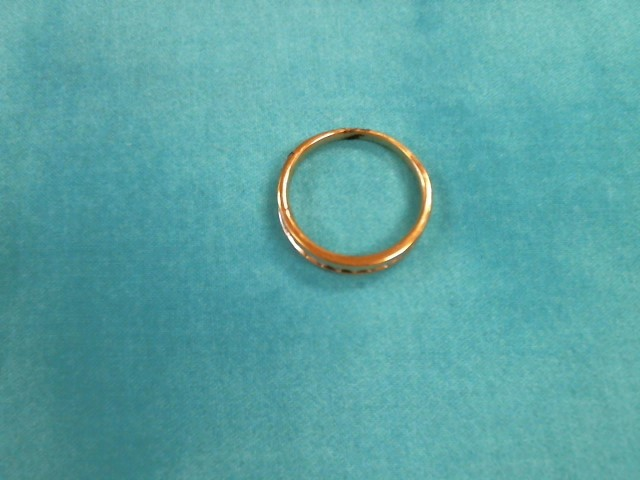 Gent's Gold Wedding Band 10K Yellow Gold 3.1dwt