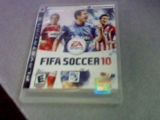SONY Sony PlayStation 2 Game FIFA SOCCER 10