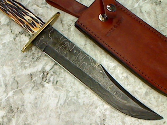 BEAR & SON HUNTING KNIFE