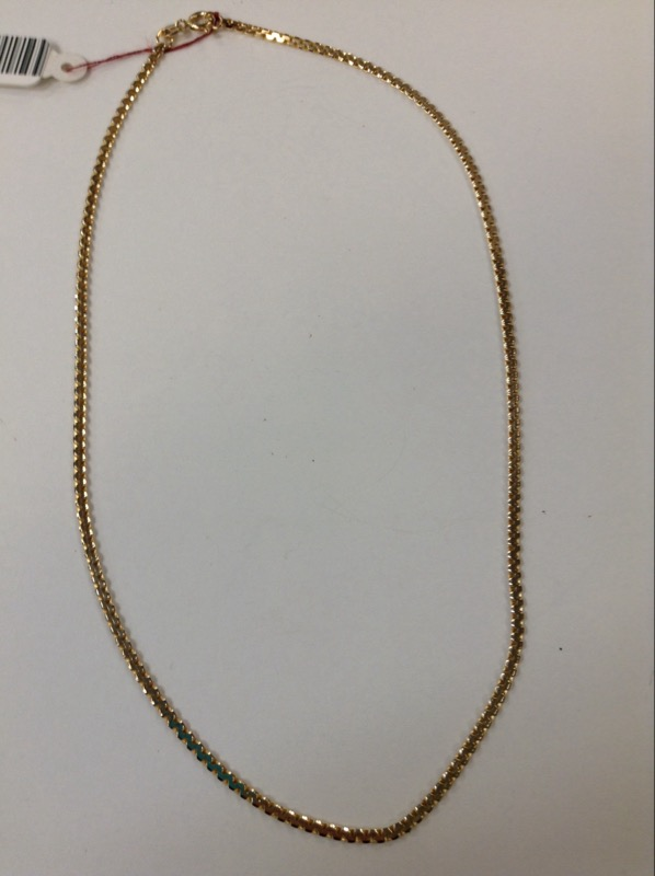 "20"" Gold Milano Chain 14K Yellow Gold 7.2g"