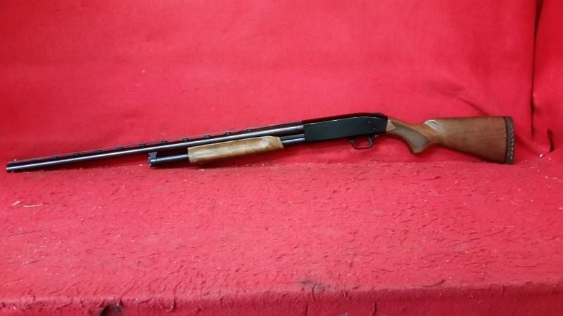 Mossberg 500A 12ga Pump Action - Walnut Stock