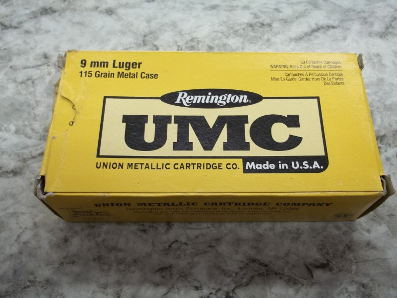 REMINGTON 9MM LUGER 50 RND BX