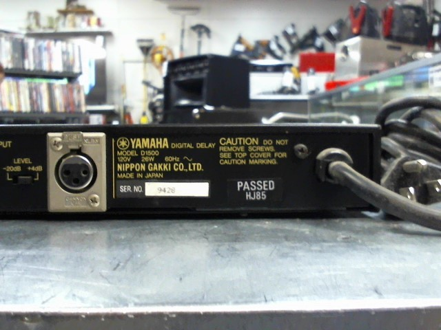 YAMAHA Effect Equipment D1500