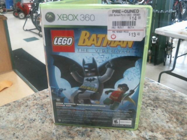 MICROSOFT Microsoft XBOX 360 Game LEGO BATMAN/PURE