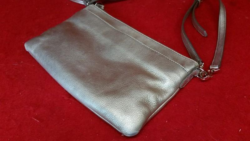 Fossil Ladies Brown Leather Purse / Handbag