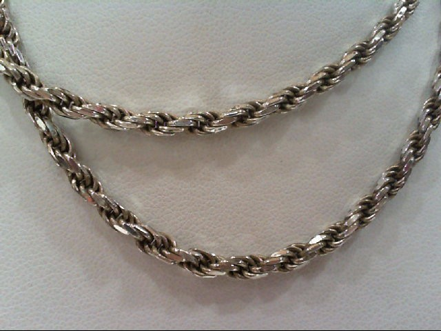 Silver Rope Chain 925 Silver 17g
