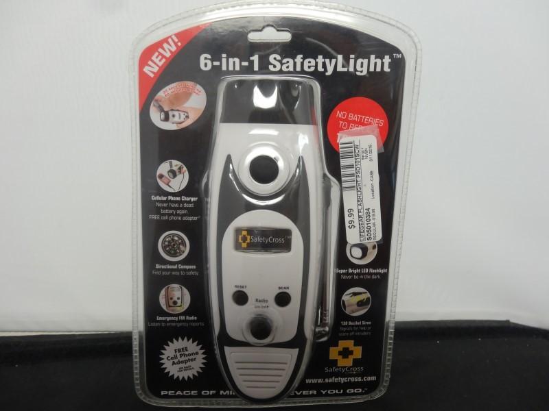 LIFEGEAR Flashlight PSD101SCW