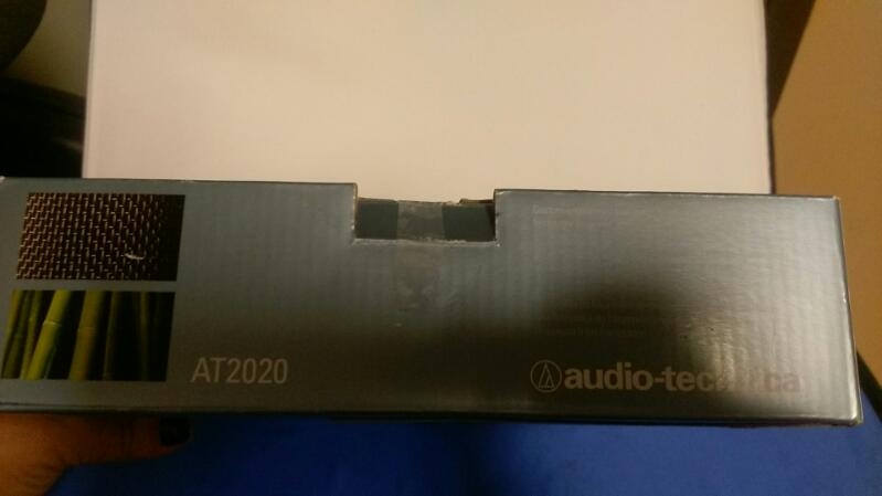 Audio Technica AT2020 Professional Condenser Microphone