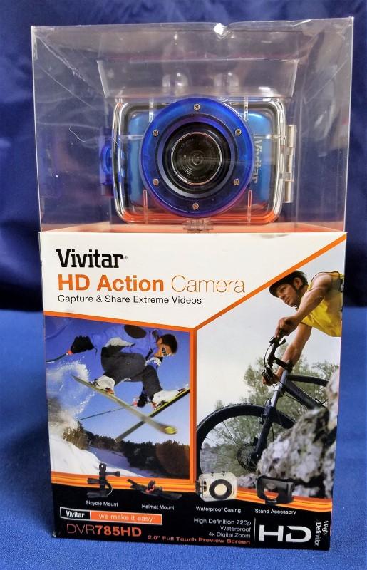VIVITAR CAMCORDER DVR 785HD