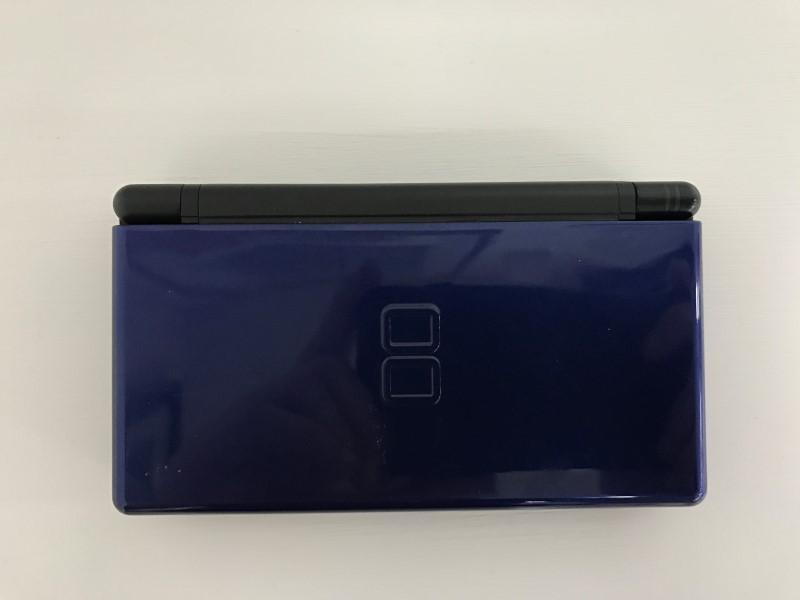 Nintendo DS Lite Handheld Console Midnight Blue w/ Pink Stylus!