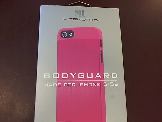 LIFEWORKS BODYGUARD CASE IPHONE 5/5S
