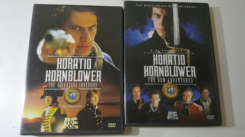 Horatio Hornblower The New Adventures & The Adventure Continues 2 DVD Set