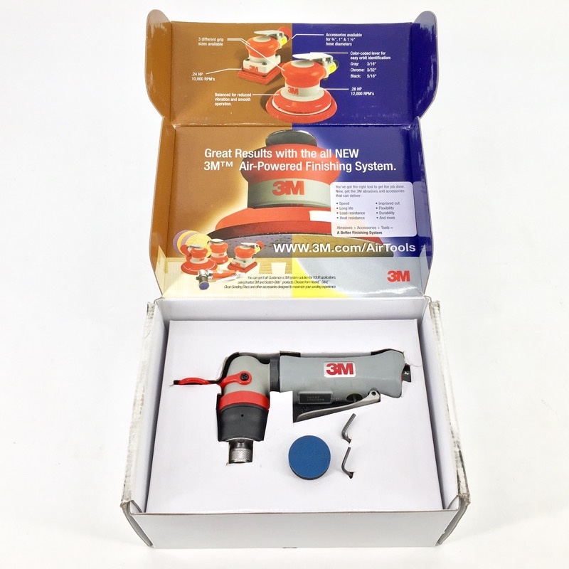 3M Elite Series Mini Orbital Sander 28737, 1-1/4""