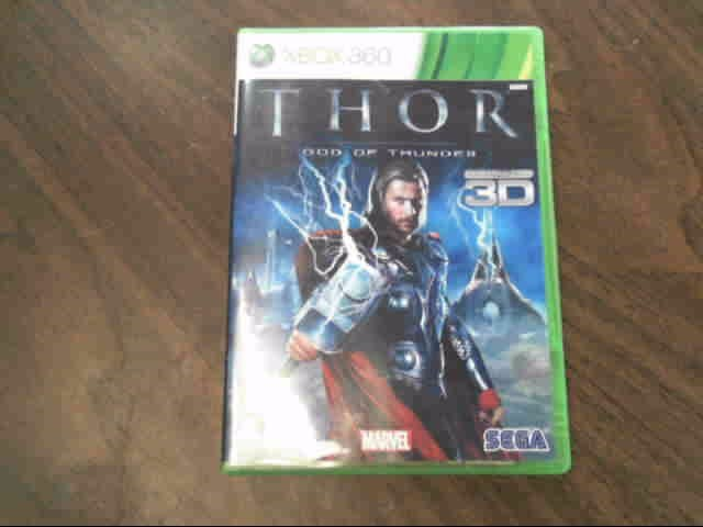 MICROSOFT Microsoft XBOX 360 Game THOR GOD OF THUNDER