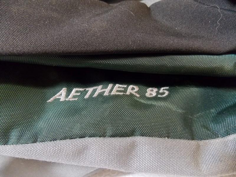OSPREY AETHER 85 BACKPACK, DARK GREEN, LARGE