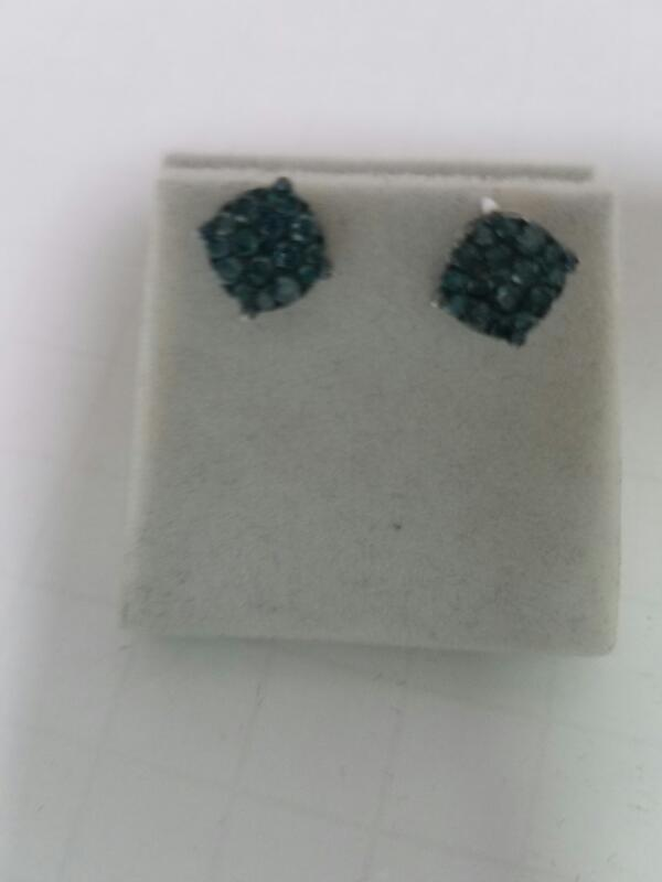 DIAMOND  EARRINGS L'S 14KT DIAMOND LOST IN AUDIT 1.4_DWT/WG