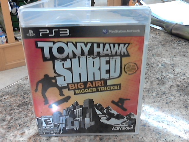 SONY Sony PlayStation 3 Game TONY HAWK SHRED