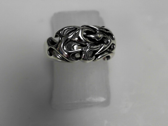 Sterling Silver Ring 17.43g Size:13