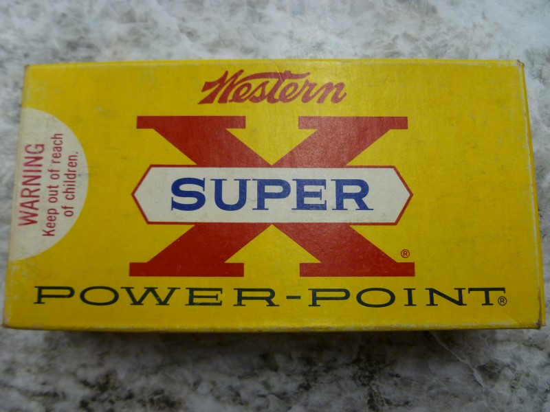 WESTERN SUPER X VINTAGE 300 SAVAGE AMMO (20 CARTRIDGES)