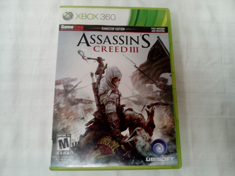 MICROSOFT XBOX 360 ASSASSINS CREED III