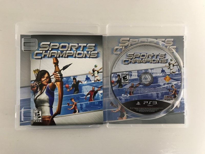 SONY PLAYSTATION 3 SPORTS CHAMPIONS - PS3