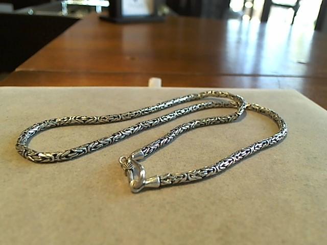 "18"" Silver Chain 925 Silver 24g"