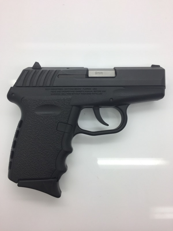 SCCY CPX-2    9MM SEM AUTO PISTOL