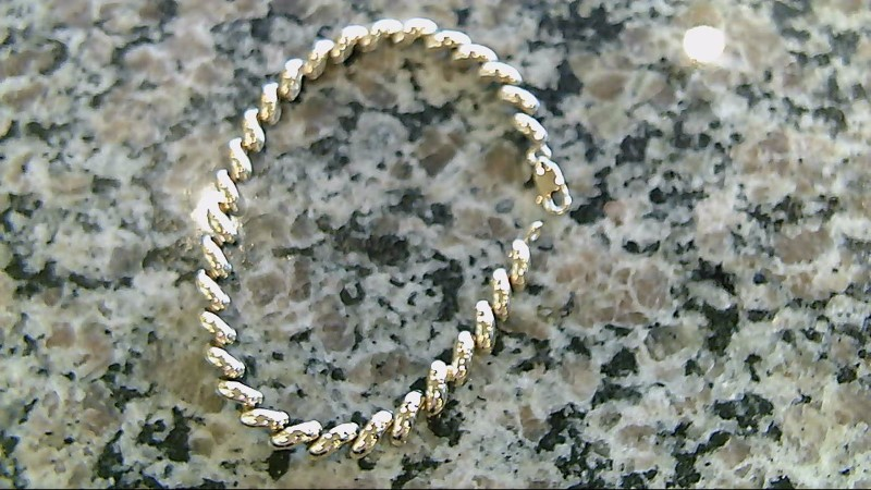 Gold Bracelet 10K Yellow Gold 4.6g
