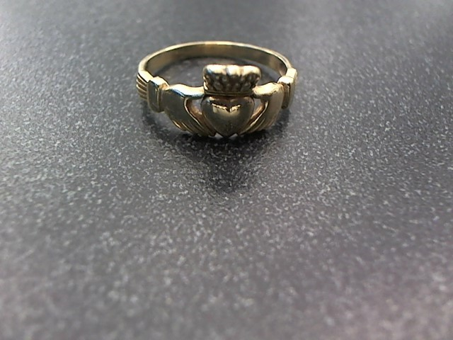 Lady's Gold Ring 10K Yellow Gold 2.7g Size:10