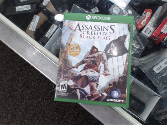 MICROSOFT Microsoft XBOX One Game ASSASSIN'S CREED IV BLACK FLAG - XBOX ONE